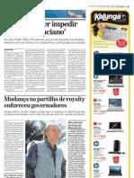 PETR-2009-08-31-Mudança na partilha de royalty enfureceu governadores