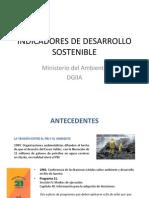 Indicadores de Desarrollo Sostenible 22-09-2011