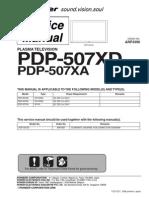 13286575 Pioneer Plasma Tv Pdp507xd