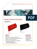 68p100bk Parlante Bluetooth Omega