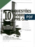 PETR-2009-09-08- Questões sobre pré-sal