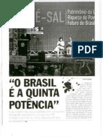 PETR-2009-09-08-OBrasil é a quinta potência