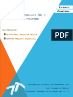 Ensayo PLC Regulacion Del Trafico