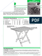 Beginner- Folding Picnic Table