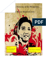 Political Economy of the Philippines under Marcos Administration