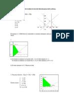 SOLUCIONES EJERCICIOS DE PROGRAMACIÓN LINEAL