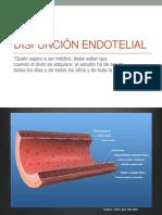 II 02 Disfuncion Endotelial
