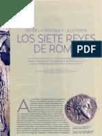 Los 7 Reyes de Roma Entre La Historia y La Leyenda