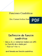 funciones cuadráticas