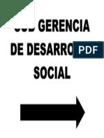 Sub Gerencia de Desarrollo Social
