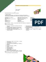 Plan de Aula Primero y Segundo 2014