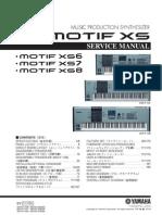 Yamaha Motif Xs6 Xs7 Xs8 (Service)