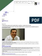 CVM Autoriza Empresas de Capital Aberto a Publicar Comunicados Em Sites