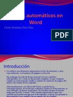 Índices automáticos en Word (1)