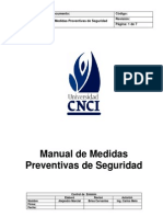 Manual de Me Did as Prevent i Vas de Seguridad