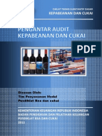 2011 DTSD Pengantar Audit Kepabeanan Dan Cukai