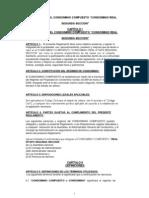 Reglamento 2012 1a secc