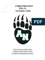 Aliso Niguel High School Curriculum Guide 20132014