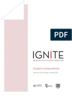 IGNITE — Ideas For Post-Secondary Education