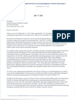 Letter from EPA to Natural Resources Defense Council