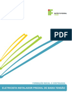 Eletricista Instalador Predial de Baixa Tensão - PRONATEC - IFPR - 79 páginas