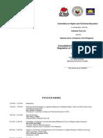 CHTE Consultative Forum Program Invitation