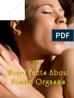 10 Weird Facts About Female Orgasms