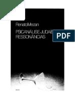 Renato Mezan - Psicanálise, Judaismo. Ressonâncias