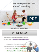 Intervention Strategies Used in a Children Counselling