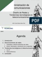 Tema 3,4 Administracion de Telecomunicaciones