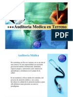 Auditoria en Terreno