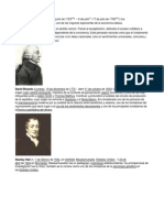 Biografias Adam Smith, David Ricardo, Stalley....