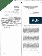 Montero, M. Una Mirada Dentro de La Caja Negra