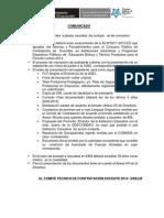 Requisitos Postular Plaza Docente 2014