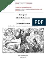 Lemegeton Clavicula Salomonis ('La Llave de Solomon')