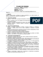 Hist Brasil - Plano de Ensino