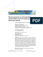 Physical Properties of Gastrointestinal