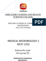 Medical Microbiology 2 Presentation Visa