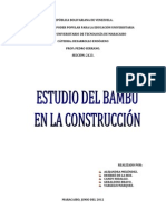 3er Informe de Desarrollo Endógeno (Bambú)
