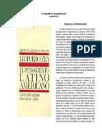 El Pensamiento Latinoamericano (Leopoldo Zea)
