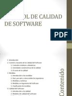 Control de Calidad de Software