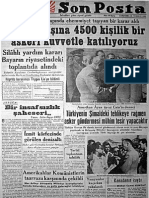 Gazete Manşetleri 1950-1955