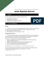 Instalasi DNS Server pada Ubuntu Server