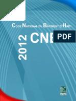 CODE NATIONAL DU BÂTIMENT D'HAÏTI