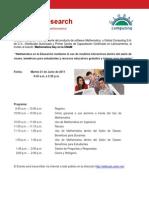 Invitacion Mathematica