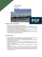 Defenisi Pelabuhan Dan Kapal