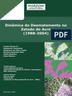 Inamica Do Desmatamento No Estado Do Acre 1988