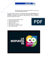 Letter to Trainee for Visa Tp-6. Aiesec in Colombia