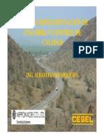 Construccion de Carretera Chiclayo - Chongoyape