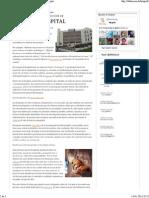 Definición de hospital - Qué es, Significado y Concepto